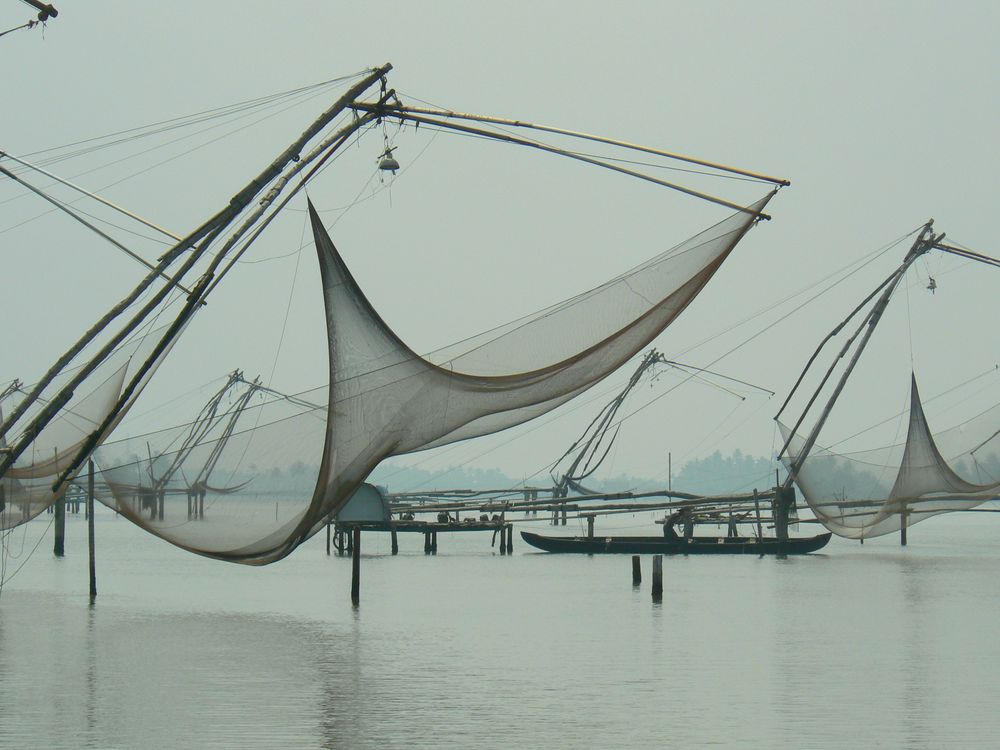 Fishing net in Cochin